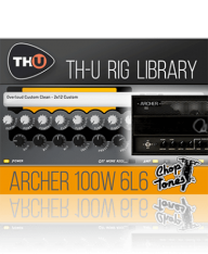 Overloud Choptones Archer 100W 6L6 Rig Library