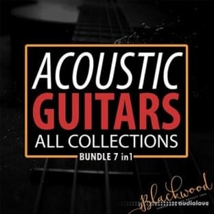 Blackwood Samples Acoustic Guitars All Collections BUNDLE 7-in-1