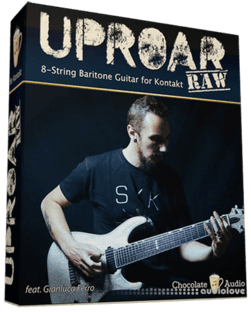 Chocolate Audio Uproar RAW 8-String Baritone Guitar