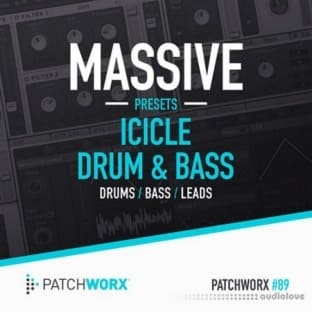 Loopmasters Patchworx 89 Icicle Drum and Bass Massive Presets