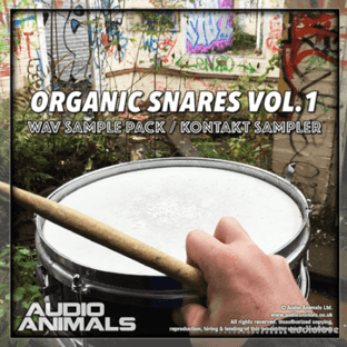 Audio Animals Organic Snares Vol 1