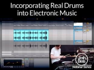 Groove3 Incorporating Real Drums into Electronic Music