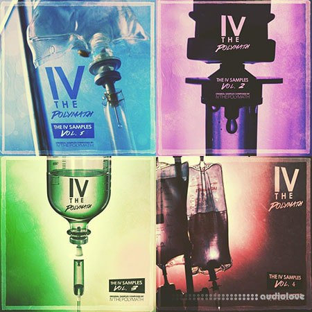 IV The Polymath - The IV Samples BUNDLE 4-in-1