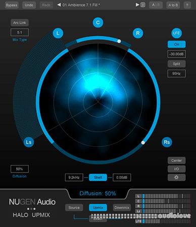 NuGen Audio Halo Upmix v1.6.0.15 UNLOCKED WiN