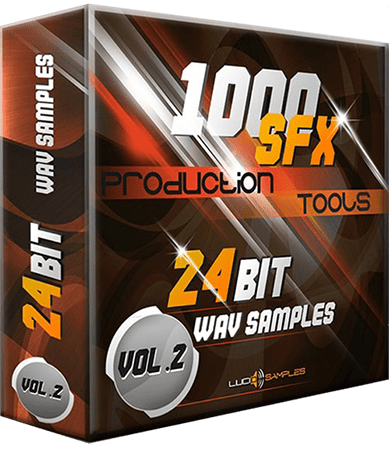 Lucid Samples 1000 SFX Production Tools Vol 2