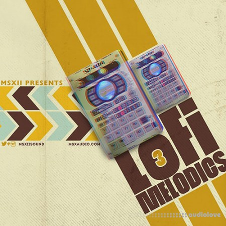 MSXII Sound Design LoFi Melodics 3