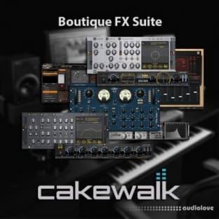 Cakewalk Boutique FX Suite