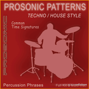 Prosonic Studios Techno and House Drum MIDI Library Common Signatures Vol.1
