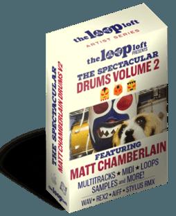 The Loop Loft Matt Chamberlain Drums 2