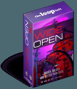 The Loop Loft Wide Open Drums Vol 1