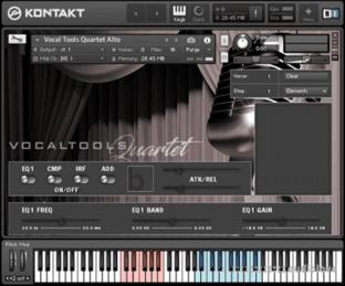 Bela D Media Vocal Tools Quartet