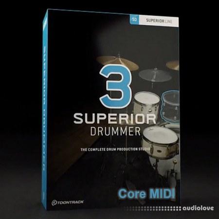 Toontrack Superior Drummer 3 Core MiDi 100