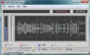 Adrosoft DUAL Audio Recorder