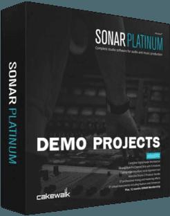 Cakewalk SONAR Demo Projects