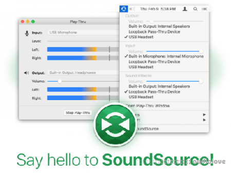 Rogue Amoeba SoundSource v5.3.7 MacOSX
