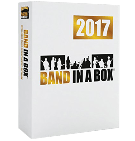 PG Music Band-in-a-Box 2017