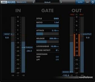 DMG Audio Track Range