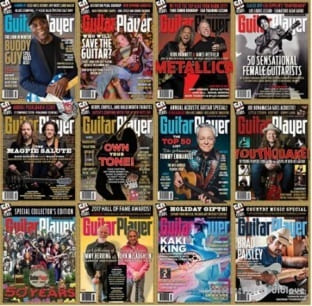 Guitar Player 2017 Full Year Issues Collection