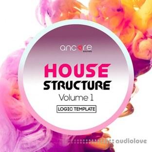 Ancore Sounds House Structure Logic Pro Template Vol.1