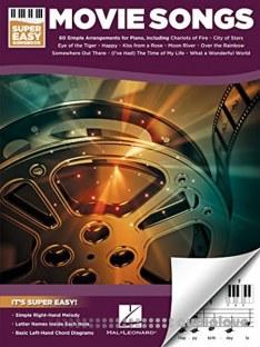 Hal Leonard Corp Movie Songs Super Easy Songbook