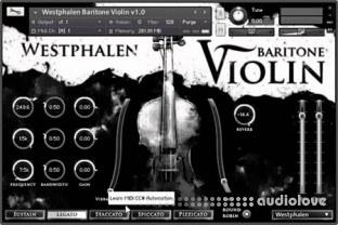 Strezov Sampling Westphalen Electric Violin