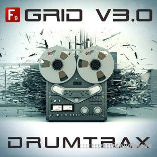 F9 Audio Grid V3.0 Future Retro Drumtrax