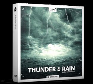 Boom Library Thunder and Rain