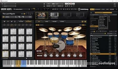 Steinberg Groove Agent 5 v5.0.10.99 / v5.0.40 WiN MacOSX
