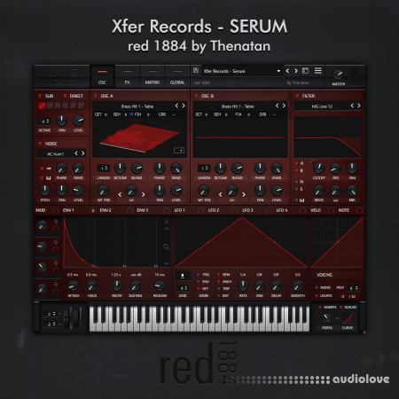 Thenatan Xfer Records Red 1884