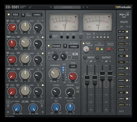 TBProAudio CS5501 v2.1.4 / v1.4.3 WiN MacOSX