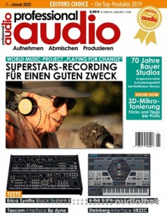 Professional Audio Januar 2020