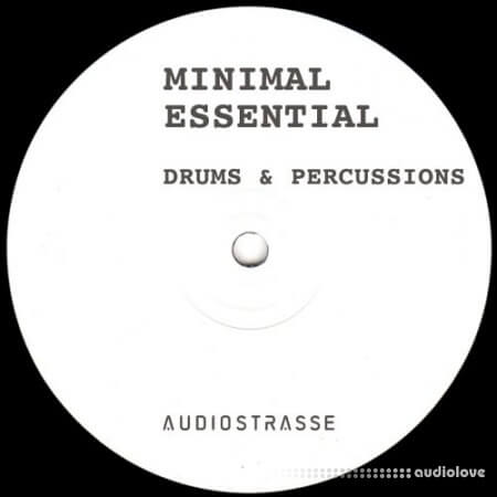 Audio Strasse Minimal Essential Drums and Percussions