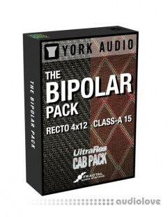 York Audio Bipolar Pack Class A15 + Recto 4x12 IR Library