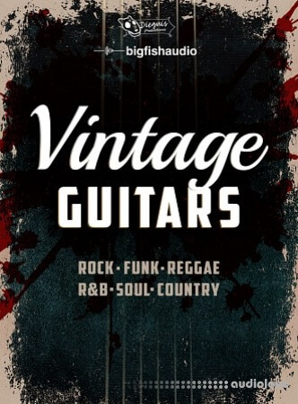 Big Fish Audio Xtended Series Vintage Guitars