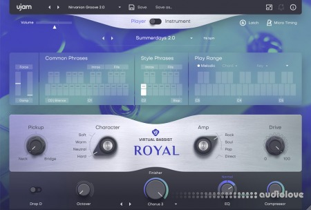UJAM Virtual Bassist ROYAL v2.1.1 WiN MacOSX