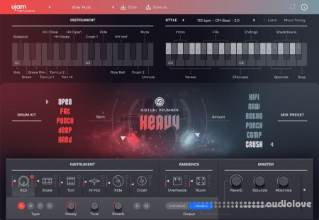 UJAM Virtual Drummer HEAVY v2.1.0 WiN MacOSX
