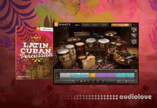 Toontrack Latin Cuban Percussion EZX