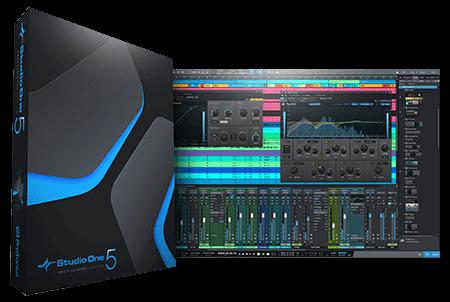 PreSonus Studio One 5 Professional v5.4.1 / v5.3.0 WiN MacOSX