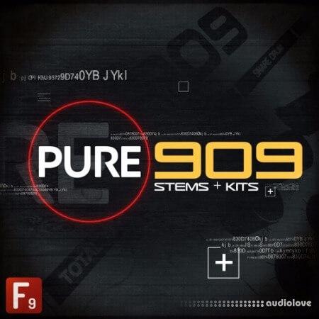 F9 Audio PURE 909 Stems and Kits