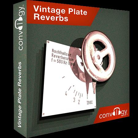 Presonus Convology Vintage Plate Reverbs (Impulse Bounce)