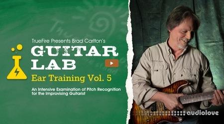Truefire Brad Carlton Guitar Lab Ear Training Vol.5