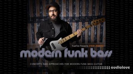 Truefire Steve Jenkins Modern Funk Bass