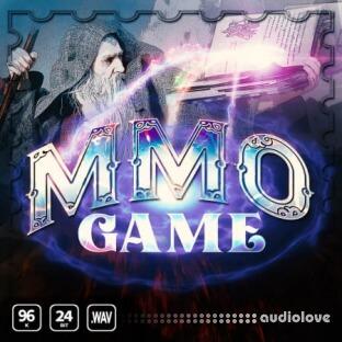Epic Stock Media MMO Game Magic