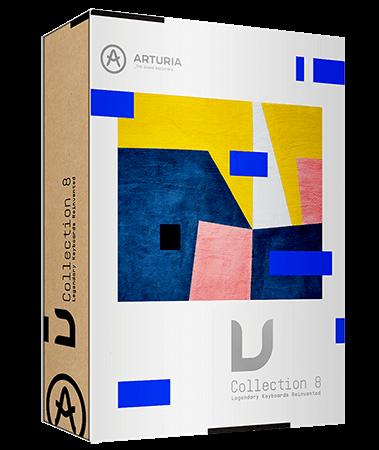 Arturia V Collection 8 v8.5.0 / v07.2021 WiN MacOSX