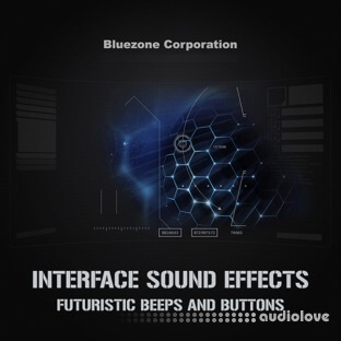 Bluezone Corporation Interface Sound Effects Futuristic Beeps and Buttons
