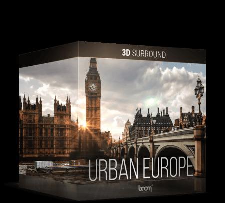 Boom Library Urban Europe 3D WAV