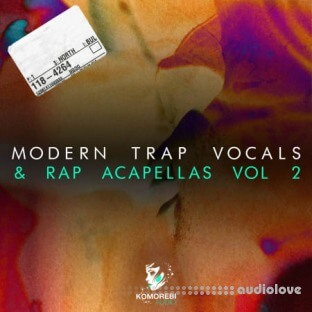 Komorebi Audio Modern Trap Vocals and Rap Acapellas Vol.2