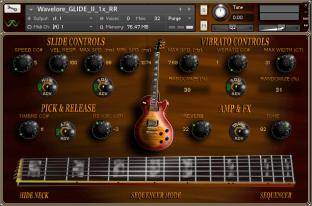 Wavelore GLIDE II Electric Slide Guitar 1x RR
