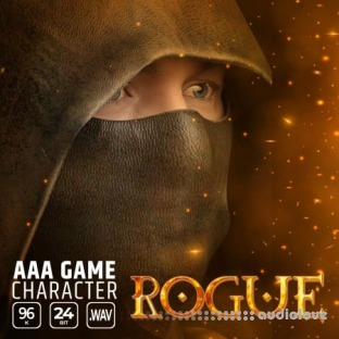 Epic Stock Media AAA Game Character Rogue