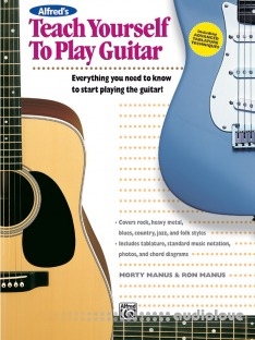 Alfred's Teach Yourself to Play Guitar: Learn How to Play Guitar with this Complete Course!